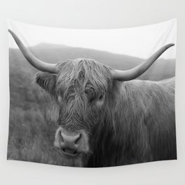Highland cow I Wall Tapestry