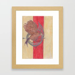 Mockingjay. Framed Art Print