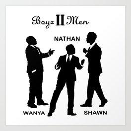 Boyz II Men Team Art Print
