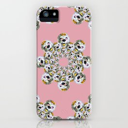 POODLE MASK iPhone Case