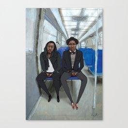 Les Parisiens - Vivien et Brian Canvas Print