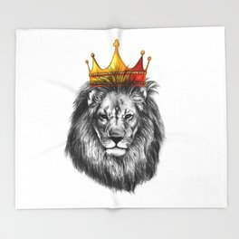 lion king Throw Blanket