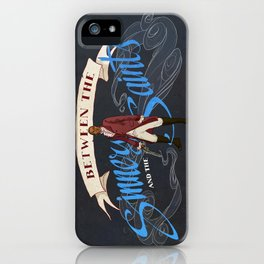 Between the Sinners and the Saints iPhone Case