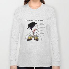 VISIBLE TOM WAITS Long Sleeve T-shirt