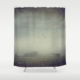 Misty Fields Shower Curtain