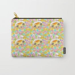 """""""Oro?"""" Easter Bunny Carry-All Pouch"""