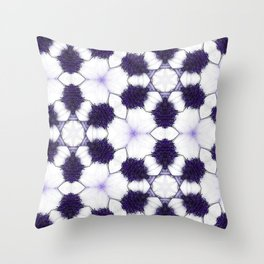 Purple Passion Pattern 5 Throw Pillow