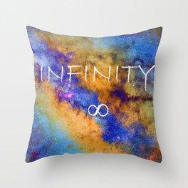 Infinity stars in Sagittarius constelation ∞ Throw Pillow