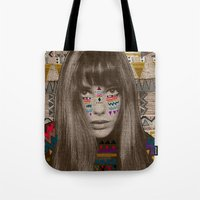 jane davenport Tote Bags featuring JANE by Kris Tate
