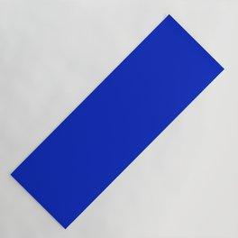 Solid Deep Cobalt Blue Color Yoga Mat