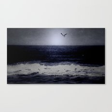The wind calls your name Canvas Print