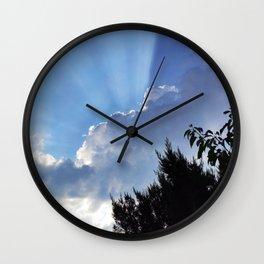 Divine Light Wall Clock