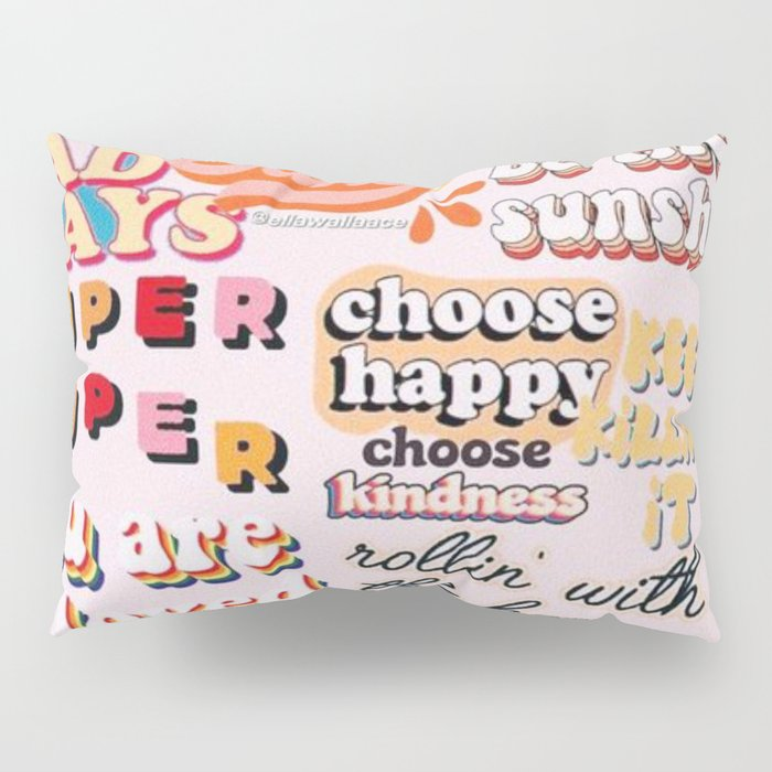 Orange Mood Pillow Sham