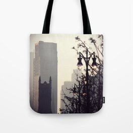Foggy day Tote Bag
