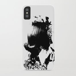 WOMAN SOLDIER iPhone Case