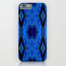 Blue Interface Slim Case iPhone 6s