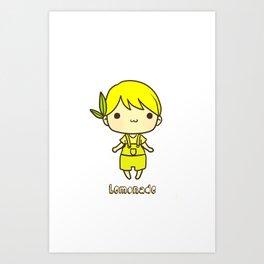 Lemonade Art Print