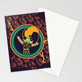 Skeletal Shock Stationery Cards