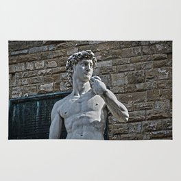 The Statue of David Rug