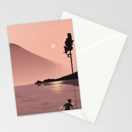 Skimming Stones Stationery Cards
