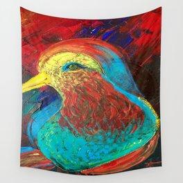Brilliant Celebration Birdie Wall Tapestry