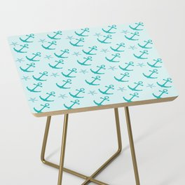 AFE Mint Anchors Side Table