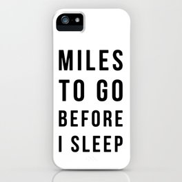 MONOFACES QUOTES iPhone Case