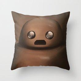 Herb the Portraitbot Throw Pillow