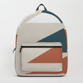 Mid Century Triangles Backpack