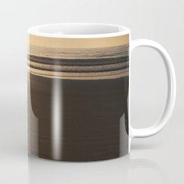 Beach Chair at Sunrise Coffee Mug