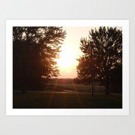 Sunset Art Print