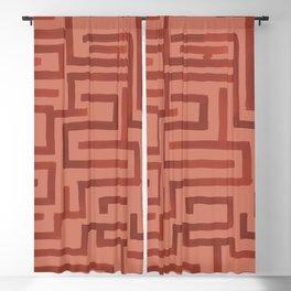 Ariadne in Rust Blackout Curtain