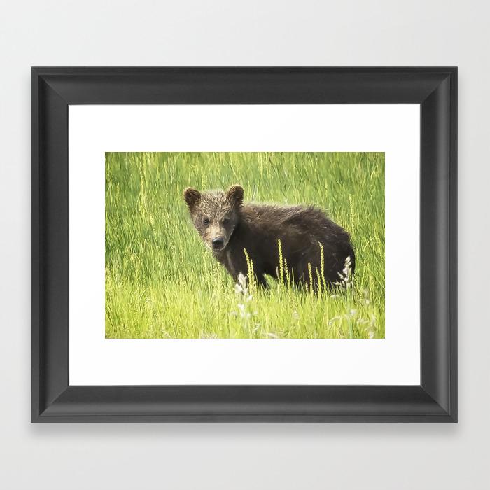 I Love Me A Teddy Bear Framed Art Print by Belindagreb FRM8752343