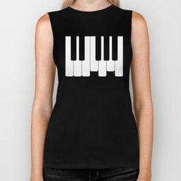 Piano keys. Playing Piano #society6 #decor #buyart #artprint Biker Tank