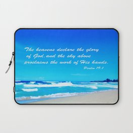 Psalm 19 Laptop Sleeve