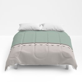 Jagged 5 Comforters