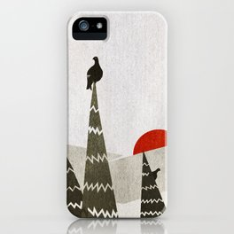 The Black Grouses iPhone Case