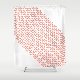SUMMER PINK Shower Curtain