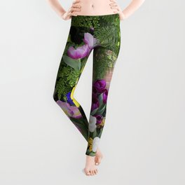 Floral Spectacular - Spring Flower Show Leggings