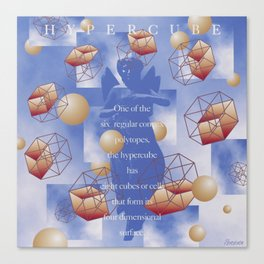 Hypercube Canvas Print