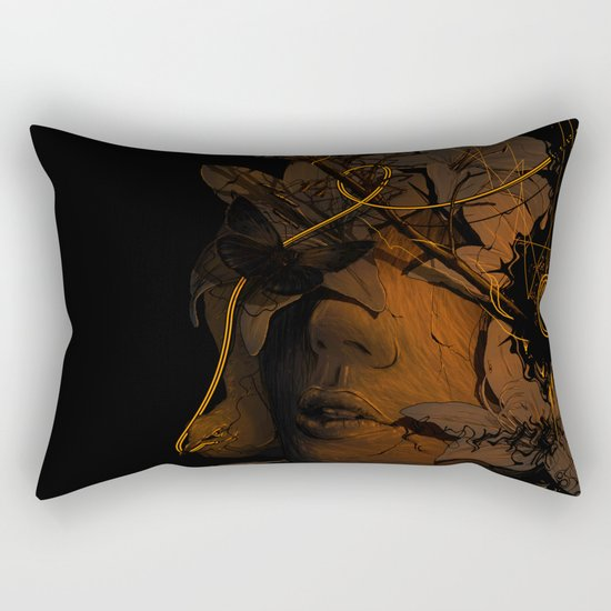 The Lost Track Rectangular Pillow