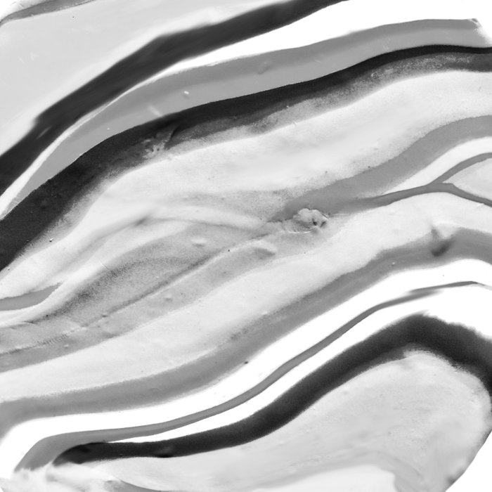 Shadow of Ourselves Marbling Marble Circle World Black and White Comforters