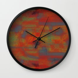 Windy Summers Day Wall Clock