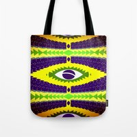 brazil Tote Bags featuring BRAZIL CUP by Chrisb Marquez