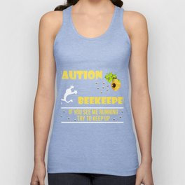 Awesome Tee For Beekeeper. Costume Ideas Unisex Tank Top