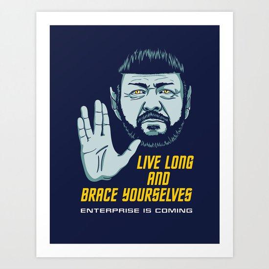 Stark Trek Art Print