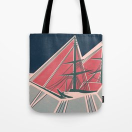 Terror in the Ice Tote Bag