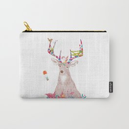 Smiling Deer Carry-All Pouch