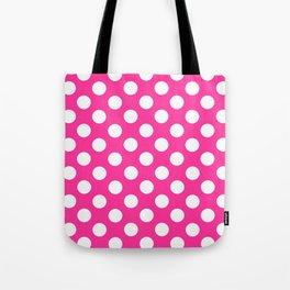 Lunares rosa Tote Bag