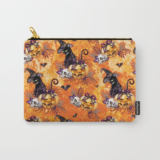 Halloween Witch #5 Carry-All Pouch